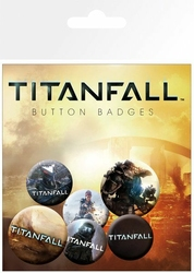 Titanfall - przypinki