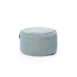 Roolf living :: pufa okrągła 50cm niebieska