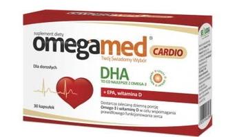 Omegamed cardio x 30 kapsułek