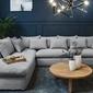 Narożnik - sofa lewostronna nicea szara