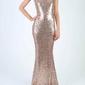 Soky soka sukienka złoty 53005-2