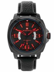 Męski zegarek NAVIFORCE - VULTURE zn037b - blackred