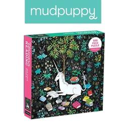 Mudpuppy puzzle rodzinne zaczytany jednorożec 500 elementów 8+