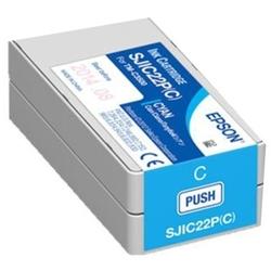 Tusz oryginalny epson sjic22p c c33s020602 błękitny - darmowa dostawa w 24h