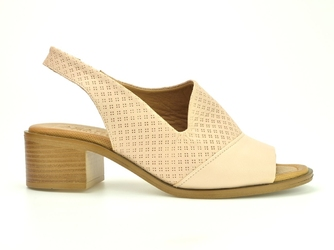 Sandały  azaria comfort 95-631 róż