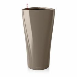 Donica lechuza delta 30, taupe kawa z mlekiem, połysk - kawa z mlekiem