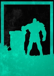 League of legends - braum - plakat wymiar do wyboru: 40x50 cm