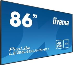 Monitor led iiyama le8640uhs-b1 4k 86 - szybka dostawa lub możliwość odbioru w 39 miastach