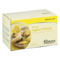 Sidroga wellness herbata imbir cytryna saszetki