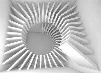 Abstrakcja 3d - fototapeta