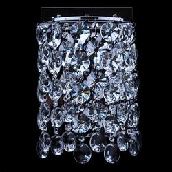 Ścienny kinkiet kryształowy 232024303