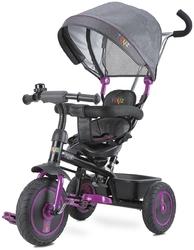 Toyz Buzz Purple Rowerek Trzykołowy z Obracanym Siedziskiem + Prezent 3D
