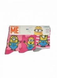 Disney 29298 Mix Dziewczęce A3 3-pack skarpetki