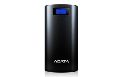 POWERBANK ADATA P20000D 20000mAh - Czarny - Szybka dostawa lub możliwość odbioru w 39 miastach