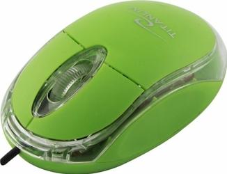 Mysz optyczna przewodowa USB TITANUM RAPTOR ZIELONA