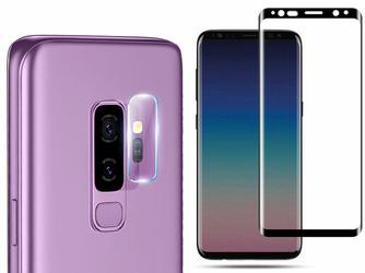 Mocolo Szkło TG+3D case friendly + szkło na obiektyw Galaxy S9 Plus