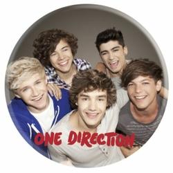 One Direction Group - przypinka