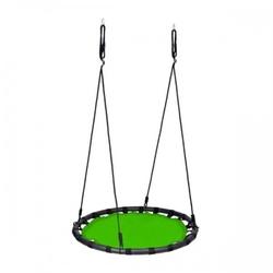 Duża huśtawka gniazdo bocianie pełne 120cm 150kg zielona