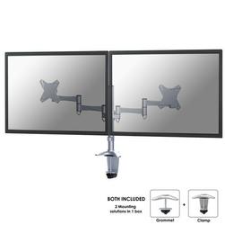 NewStar FPMA-D1330DSILVER UCHWYT LCD NABIURKOWY, KLEMAPRZELOT