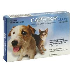 Capstar 11,4 mg f.katzen u.kleine hunde tabl.