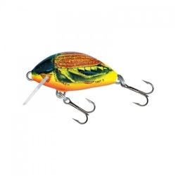 Wobler salmo tiny sinking 3cm2,5g, hot cockchafer