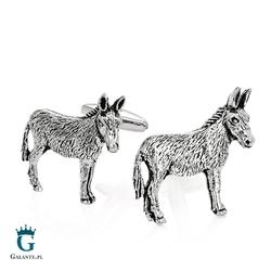 Spinki do mankietów x2 osioł donkey