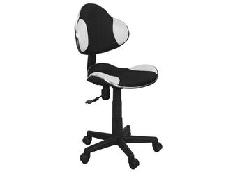 Fotel obrotowy Q-G2 czarno-biały