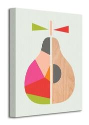 Geometric pear - obraz na płótnie