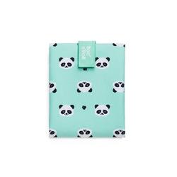 Śniadaniówka bocnroll animals panda - miętowy