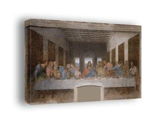 Ostatnia wieczerza -  leonardo da vinci - obraz na płótnie wymiar do wyboru: 50x40 cm