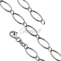 Bransoletka ozdobna srebrna pr. 925 waga od 4,4g duże oczka