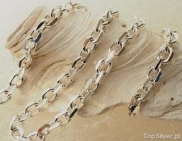 Anker - srebrny masywny łańcuch 100gram
