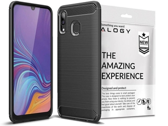 Etui alogy rugged armor do samsung galaxy a40 czarne