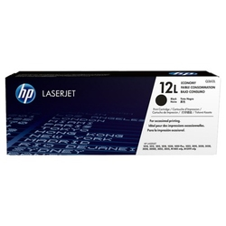Hp 12l economy black original laserjet toner cartridge