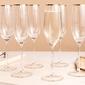 Kieliszki do szampana i wina musującego royal leerdam avangarda gold 200 ml, komplet 6 szt.