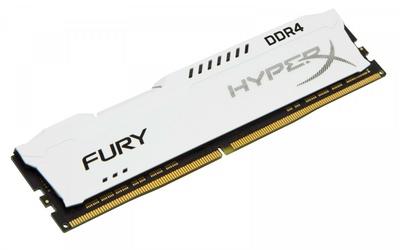 HyperX DDR4 Fury  8GB3466 CL19 1Rx8 Biała