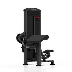 Maszyna na biceps ze stosem mp-u232 - marbo sport - antracyt metalic  czarny
