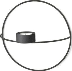 Świecznik POV na tealight 20 cm czarny