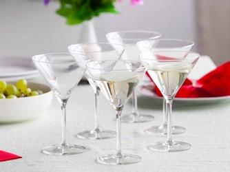 Kieliszki do martini altom design diamond 260 ml, komplet 6 szt.