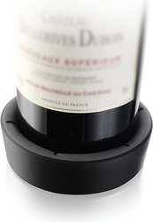 Podstawka pod butelkę wina vacu vin czarna