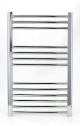 Grzejnik łazienkowy wetherby - elektryczny, wykończenie proste, 600x800, chromowany
