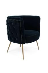Bold monkey fotel lounge such a stud granatowy bm31008