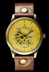 Damski zegarek TAYMA - RETRO PUNK 32 - brąz zx594a