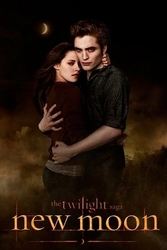 Zmierzch - new moon edward and bella - plakat
