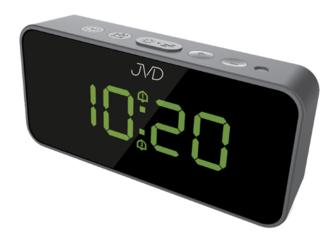 ZEGAR prądowy - budzik JVD SB 3212.1