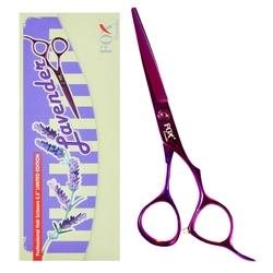 Fox lavender fryzjerskie nożyczki do strzyżenia 5,5