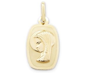 Medalik z wizerunkiem matki bożej - 21513
