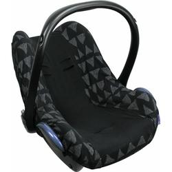 Pokrowiec do fotelika dooky seat cover -  black tribal 0+