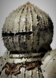 Polyamory - siegmeyer, dark souls - plakat wymiar do wyboru: 21x29,7 cm