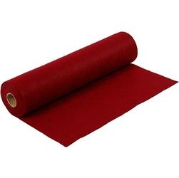 Filc marmurkowy 1,5 mm - 45100 cm czerwony - cze